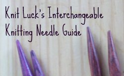 Interchangeable Knitting Needle Guide Image